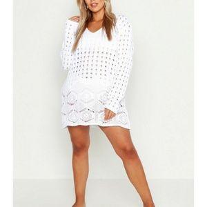Other - Lace Detail Crochet Women's Beach Wear